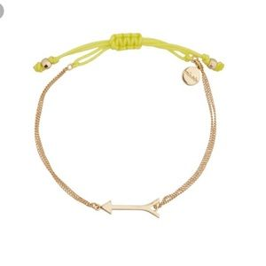 STELLA & DOT arrow wishing bracelet